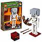 Lego Minecraft Скелет с кубом магмы 21150, фото 3