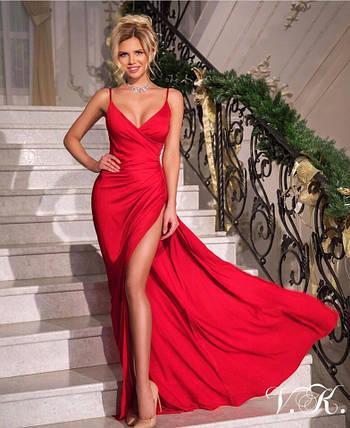 Эффектное женское вечернее платье 42-44р, фото 2