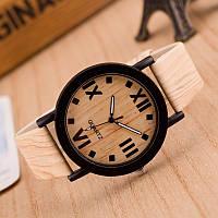 Мужские кварцевые наручные часы Quartz Light Brown