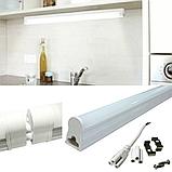 Линейный светодиодный LED светильник ,мебельный Т5 18w 120см LED LIGHT, фото 2