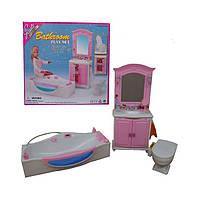Мебель для куклы Ванная Gloria 24020
