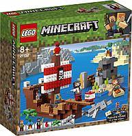 Lego Minecraft Приключения на пиратском корабле 21152, фото 1