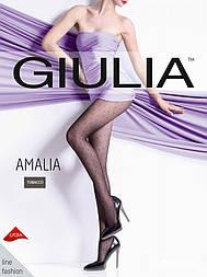 Женские колготы в мелкий горошек Gulia