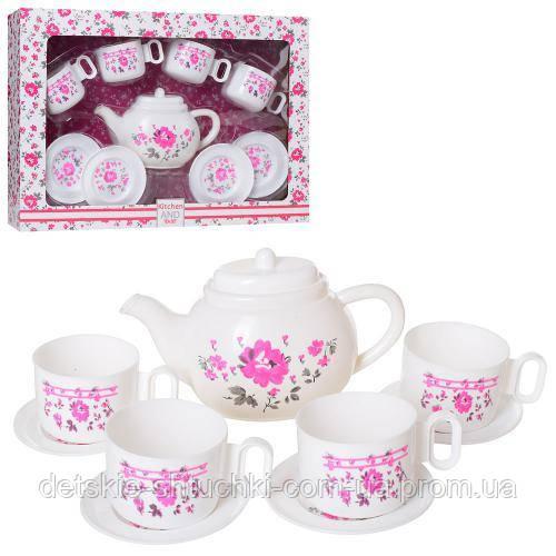 Посуда LN863B.чайный сервиз на 4персоны, в кор-ке