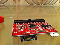 Контроллер SATA to IDE 100/133 Serial HDD CD DVD адаптер sata ide