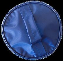 Круглый органайзер для косметики ORGANIZE (синий), фото 3