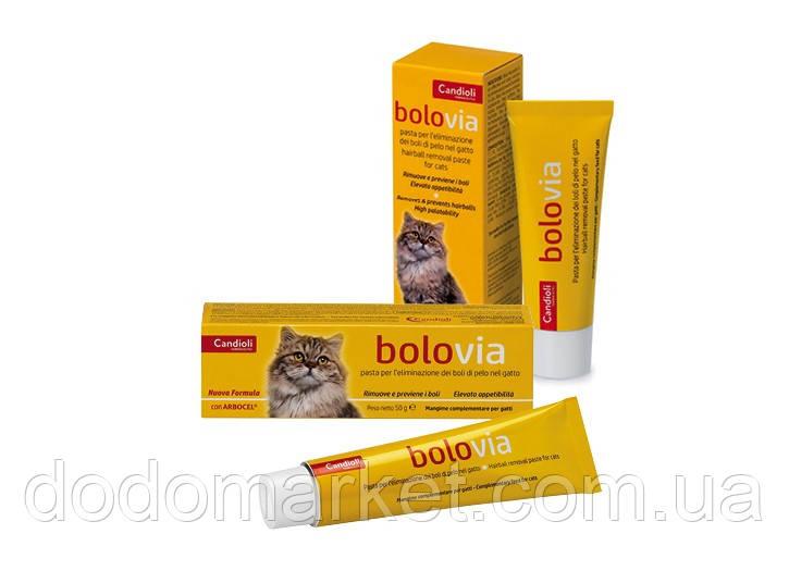 Боло Виа 25 гр паста для выведения шерсти у кошек