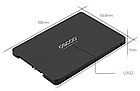 "Диск твердотільний SSD OSCOO 120 ГБ | SATA 3 | 6 GB/S | 2.5"" | Твердотельный накопитель (OSC-SSD-001), фото 8"