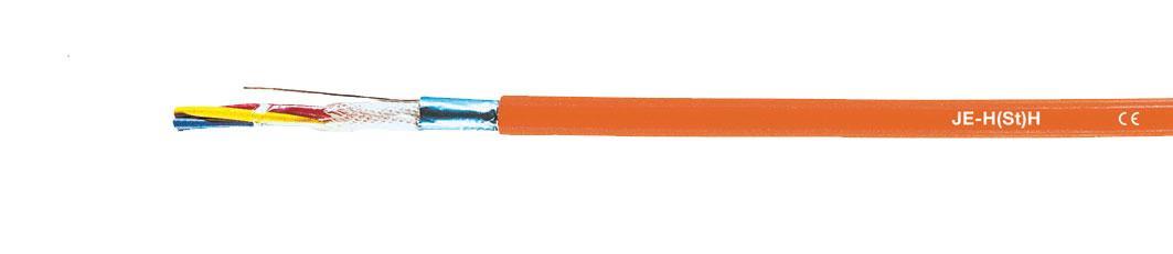 Вогнестійкий кабель JE-H(St)H...Bd FE180/Е90 2x2x08 мм (продається від 5 метрів)