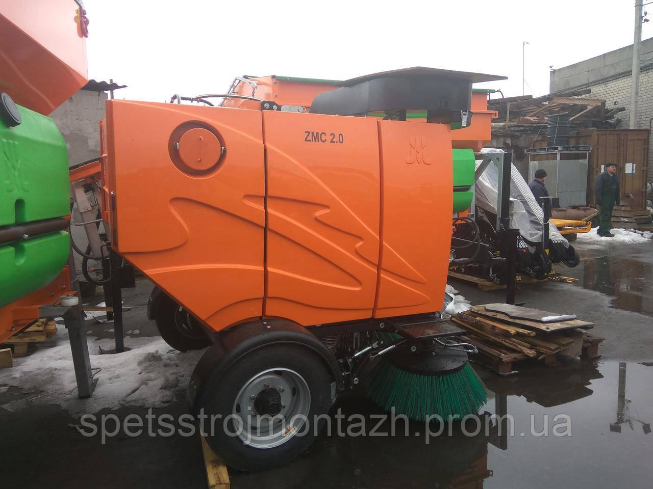 Коммунальная машина пылесос прицепной ZMC-2.0 для трактора (производство Польша, завод Pronar)
