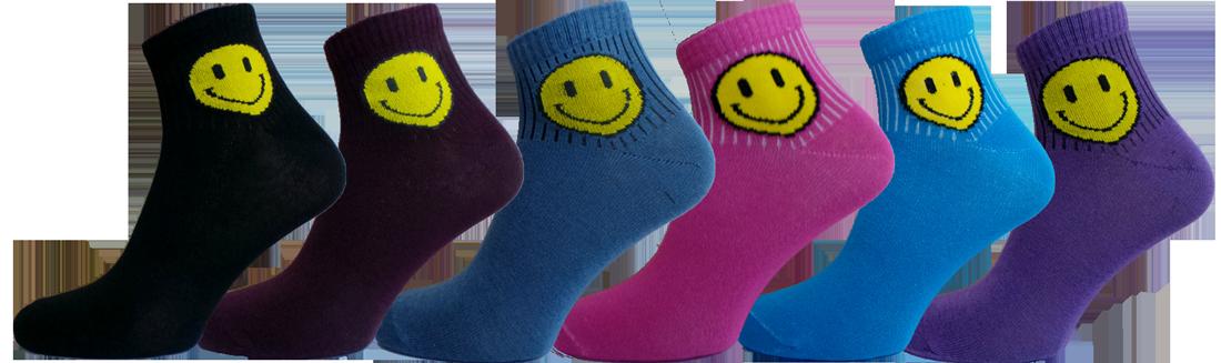 """Жіночі шкарпетки смайл хлопок""""lomani"""""""