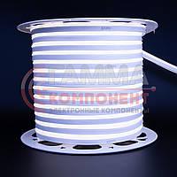Светодиодный неон 220В белый холодный AVT smd 2835-120 лед/м 7Вт/м, герметичный