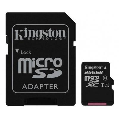 Карта памяти Kingston 256GB microSDXC class 10 UHS-I Canvas Select (SDCS/256GB), фото 2