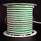 Светодиодный неон 220В зеленый AVT smd 2835-120 лед/м 7Вт/м, герметичный. Бухта 50 метров., фото 2