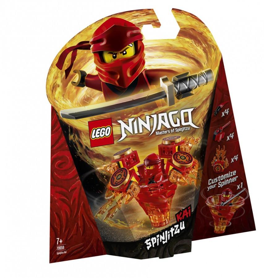 Lego Ninjago Кай мастер Кружитцу 70659