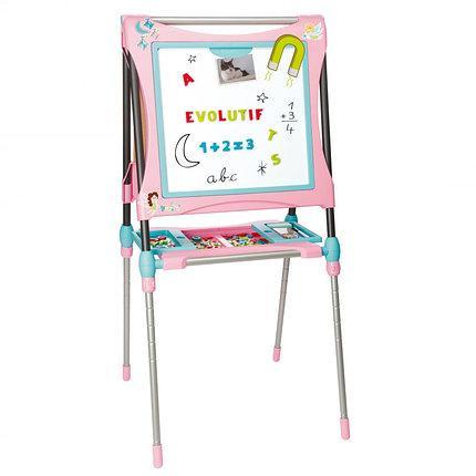 Двухсторонний мольберт детский доска для рисования Smoby 410203