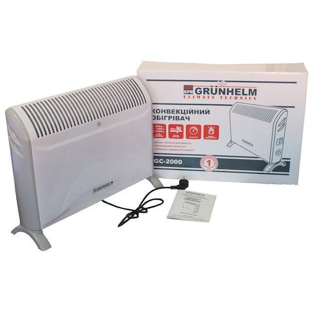 Конвектор электрический  2 кВт Grunhelm GS-2000