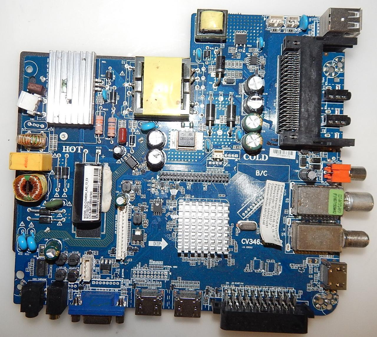 Материнская плата CQC06001016507 к телевизору SmartBook art221246