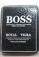"""Таблетки для потенции пробники оригинал королевская вигра босс""""boss royal vigra"""" вигра 3 таблеток в бутылочке"""