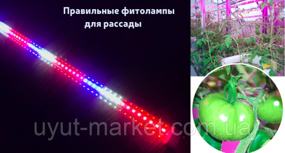 Фитолампа для рассады 120см 18Вт Т8 96D - фото 4