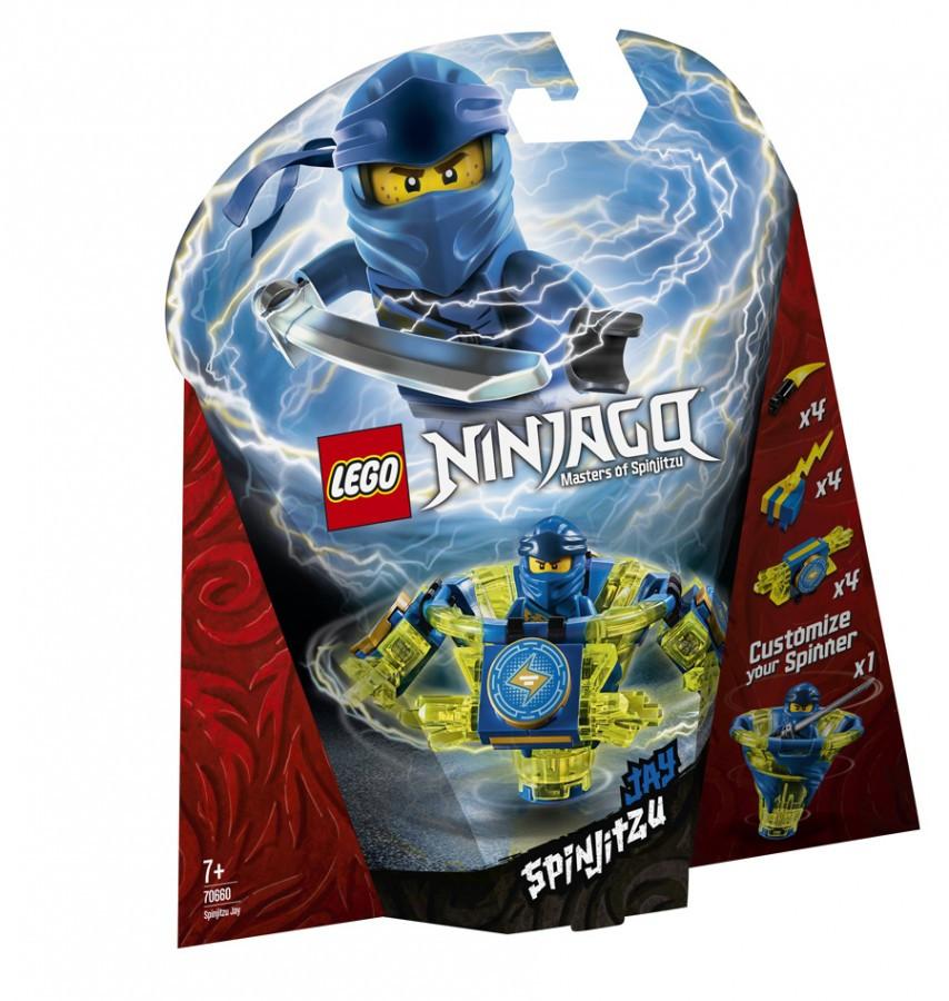 Lego Ninjago Джей мастер Кружитцу 70660