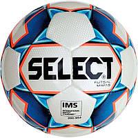 Мяч футзальный Select Futsal Mimas IMS NEW Белый/Синий/Оранжевый