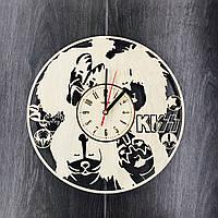 Арт часы настенные из дерева 7Arts KISS CL-0052, фото 1