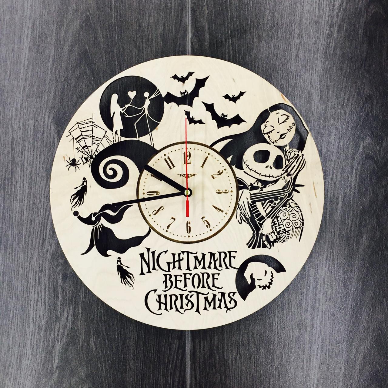Часы настенные большие 7Arts Кошмар перед Рождеством CL-0053