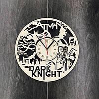 Настенные часы большие оригинальные 7Arts Темный рыцарь CL-0063, фото 1