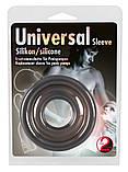 Манжета силіконова темна Universal, фото 4