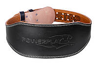 Пояс для важкої атлетики PowerPlay 5086 Чорно-Коричневий XL, фото 1