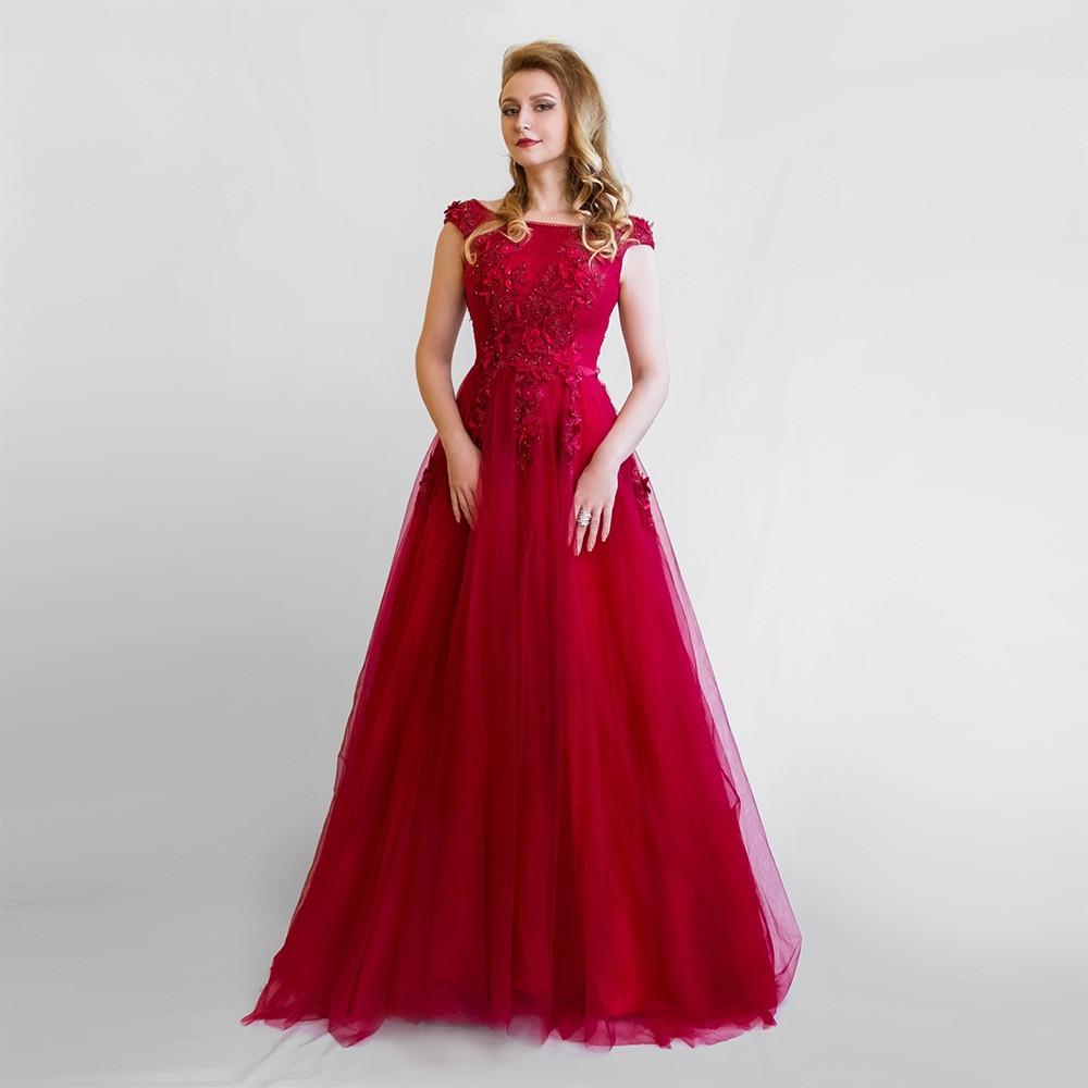 9c500273f2f4ae0 Красное Вечернее платье. Выпускное платье. Червона Вечірня сукня.Цвета в  ассортименте -