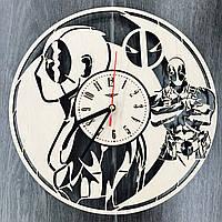 Стильные молодежные настенные часы 7Arts Дэдпул CL-0095, фото 1