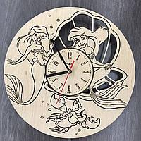 Часы настенные детские 7Arts Русалочка CL-0097, фото 1
