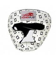 Боксерський шолом тренувальний PowerPlay 3044 Білий M, фото 1