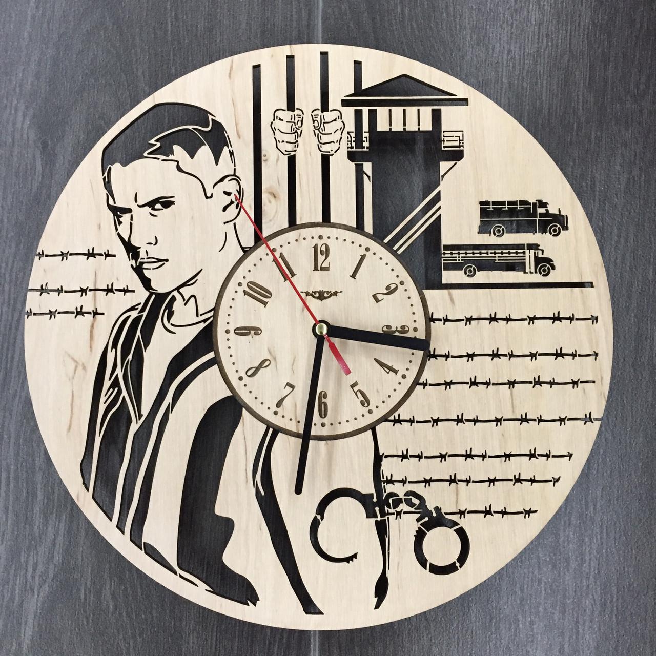 Настенные часы-картинка 7Arts Побег из тюрьмы CL-0099