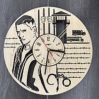 Настенные часы-картинка 7Arts Побег из тюрьмы CL-0099, фото 1
