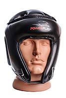 Боксерський шолом турнірний PowerPlay 3045 Чорний L, фото 1
