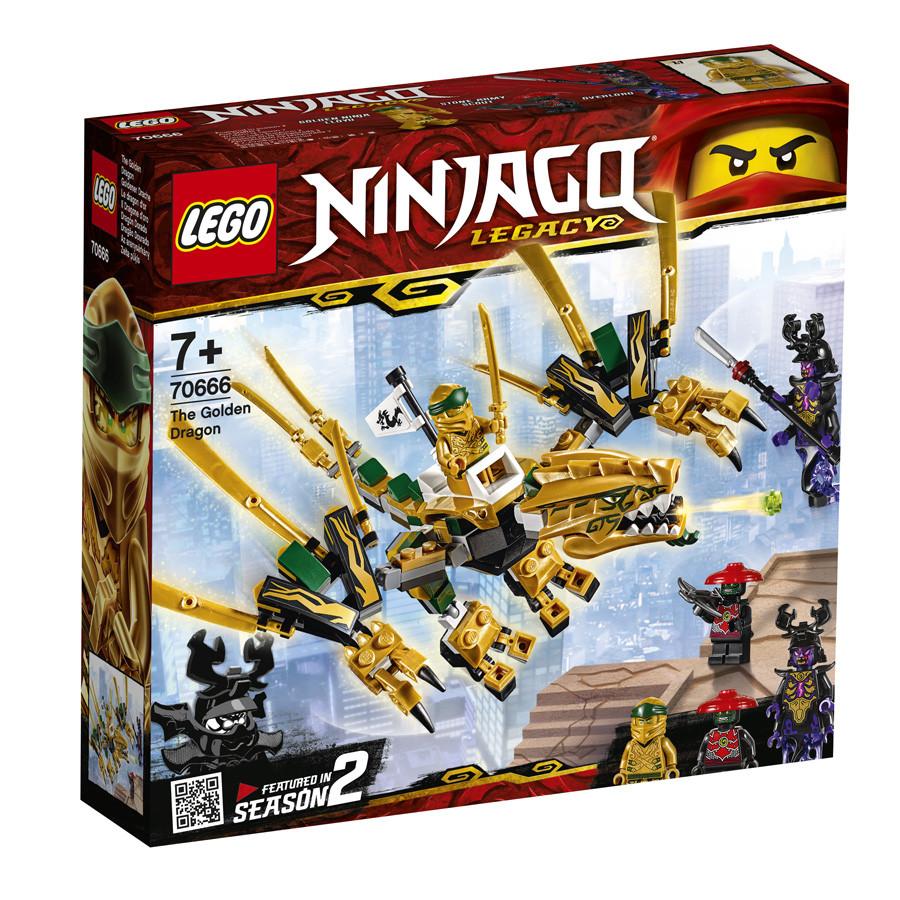 Lego Ninjago Золотой Дракон 70666