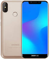 "Смартфон Doogee BL5500 Lite 2/16Gb Gold, 13+8/5Мп, 6.19"" IPS, 2SIM, 4G, 5500мАh, 4 ядра"