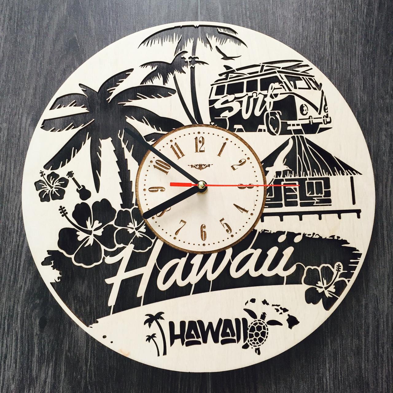 Интерьерные часы на стену 7Arts Гавайи CL-0112