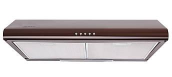 Кухонні плоска витяжка коричнева 50 см Ventolux ALDO 50 BR, фото 2