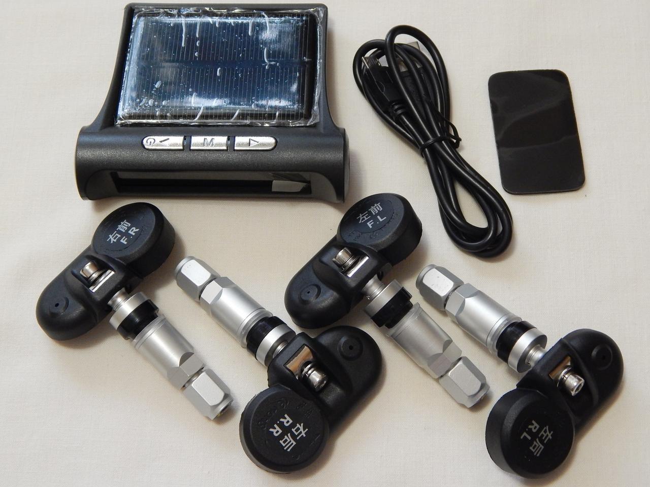 Система контролю тиску в шинах ZIRY TPMS 4-и колеса, внутрішні датчики