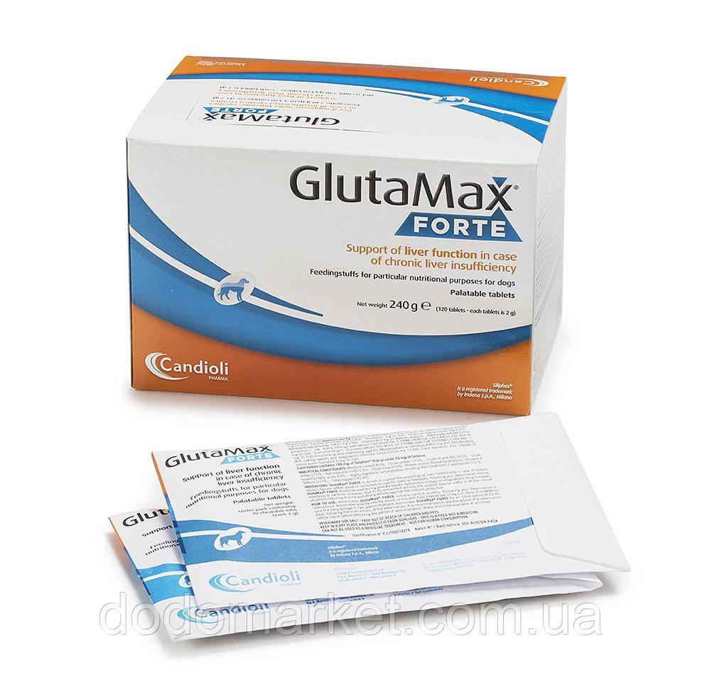 Гепатопротектор для собак Candioli GlutaMax Forte 10 таблеток
