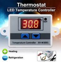 Терморегулятор цифр. XH-W3001 220В с выносным датч.-95см (-50 +110), фото 1