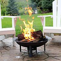 Садовый камин – источник доброго тепла в саду