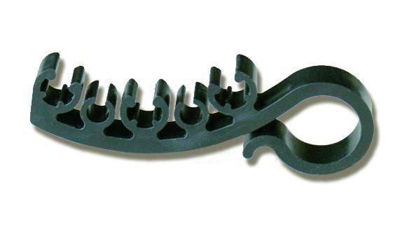 Скоба 100 мм  для желоба (1 уп.=25 шт)