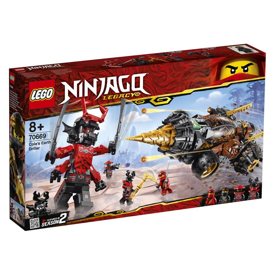 Lego Ninjago Земляной бур Коула 70669