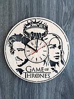 Концептуальные деревянные часы 7Arts Игра престолов CL-0137, фото 1