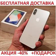 Мобильный телефон Apple iPhone X 256GB Original size 5.8 дюйма реплика Айфон 10